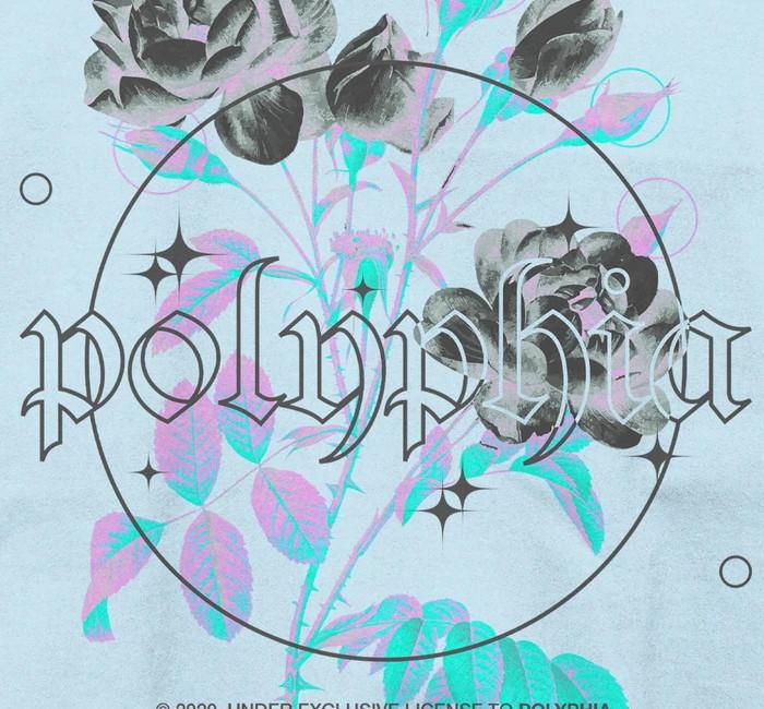 【期間限定】Polyphia / ポリフィア - Look But Don't Touch プルオーバーパーカー(ライトブルー)