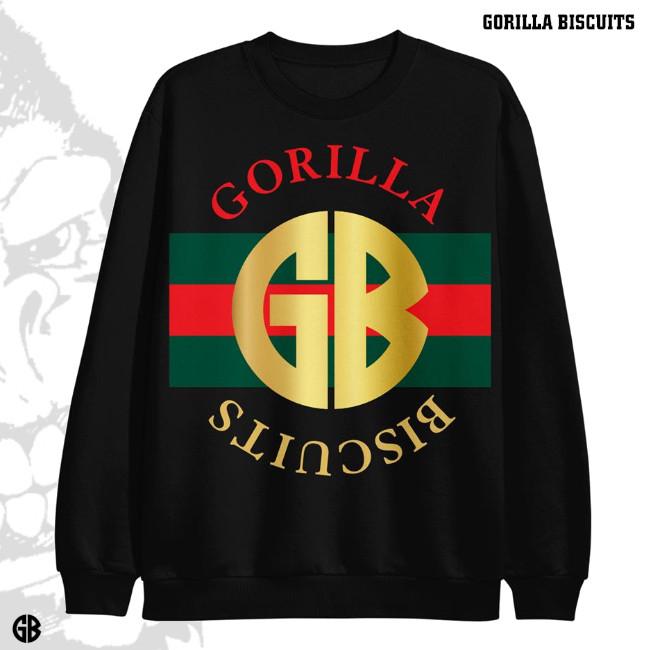 Gorilla Biscuits / ゴリラ・ビスケッツ - Gucci Azalea クルーネック・トレーナー(ブラック)※03/01再販