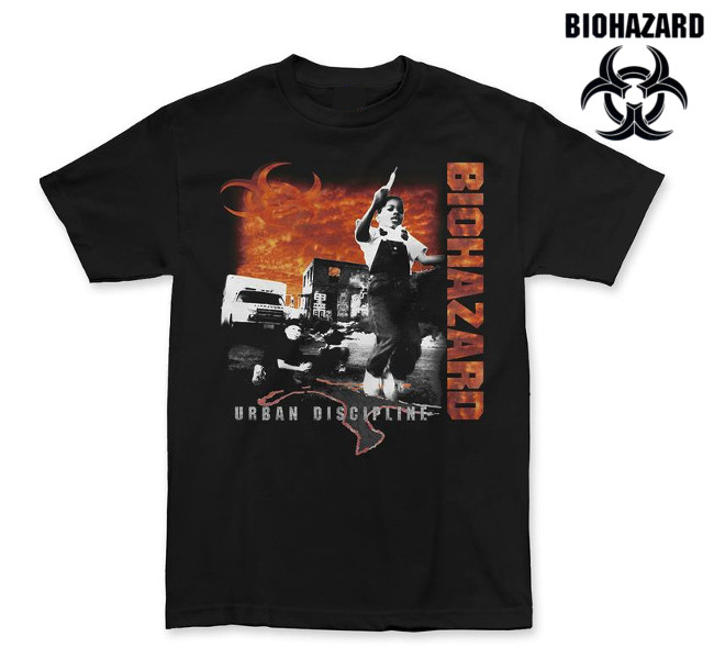 Biohazard/バイオハザード - Urban Discipline Tシャツ (ブラック)  4XLあり