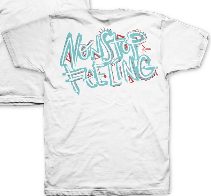 Turnstile / ターンスタイル - Nonstop Feeling Tシャツ (ホワイト)