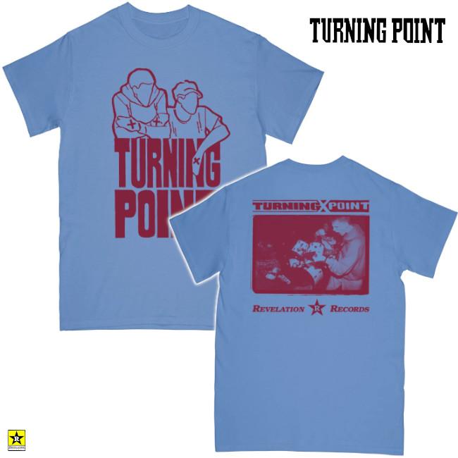 Turning Point / ターニング・ポイント- DEMO Tシャツ(ライトブルー)