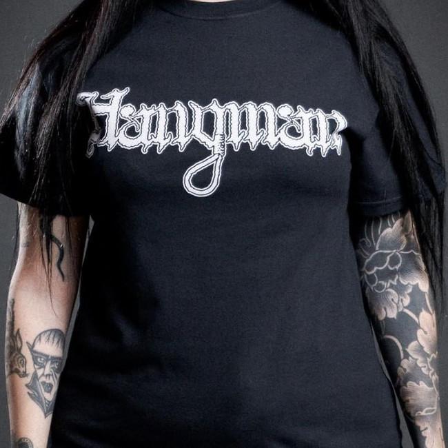 Hangman / ハングマン - Logo Tシャツ (ブラック)