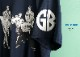 【即納】Gorilla Biscuits / ゴリラ・ビスケッツ - JUMP SHOT Tシャツ(ネイビー)【世界限定300】