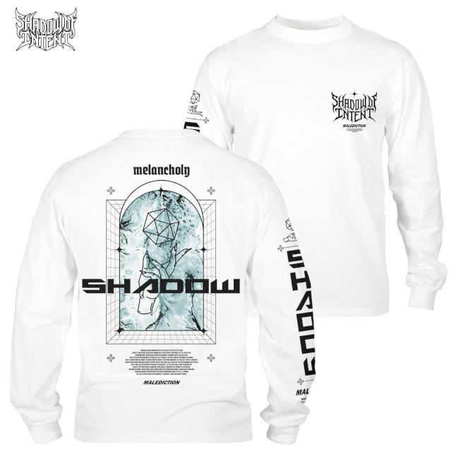 Shadow Of Intent / シャドウ・オブ・インテント - Malediction ロングスリーブ(ホワイト)