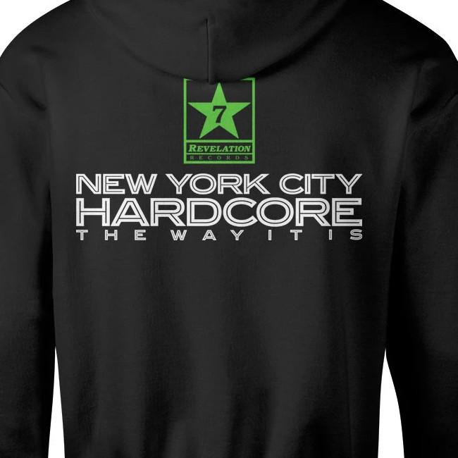 V/A New York Hardcore / ニューヨーク・ハードコアコンピ - The Way It Is プルオーバーパーカ(ブラック)