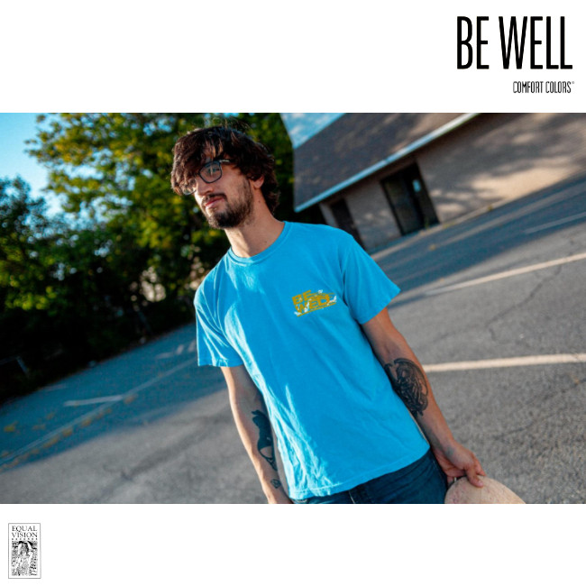 Be Well / ビー・ウェル - The Weight And The Cost Tシャツ(ブルー)