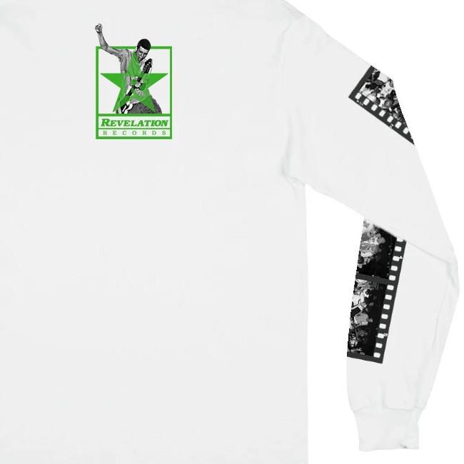 V/A New York Hardcore / ニューヨーク・ハードコアコンピ - The Way It Is ロングスリーブ・長袖シャツ(ホワイト)