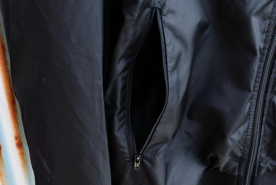 【即納 L.XL】Madball / マッドボール - Logo リブ付き・ウィンドブレーカー(ブラック)