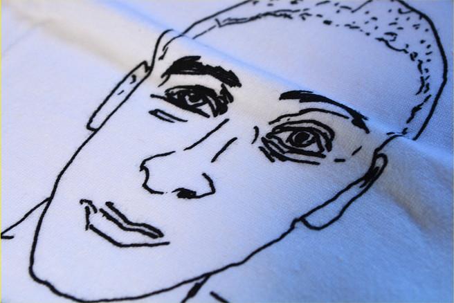 The Interrupters / ジ・インタラプターズ - Tim Art Tシャツ(ホワイト)