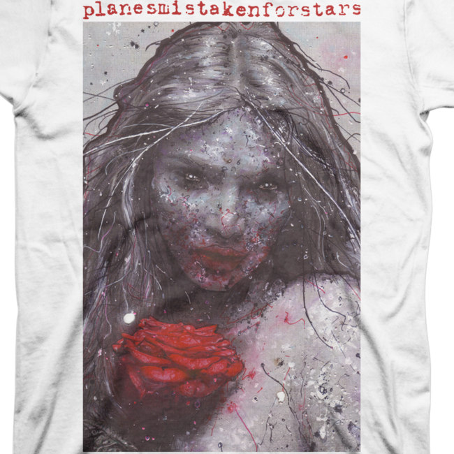 Planes Mistaken For Stars / プレインズ・ミステイクン・フォー・スターズ - MERCY Tシャツ(ホワイト)