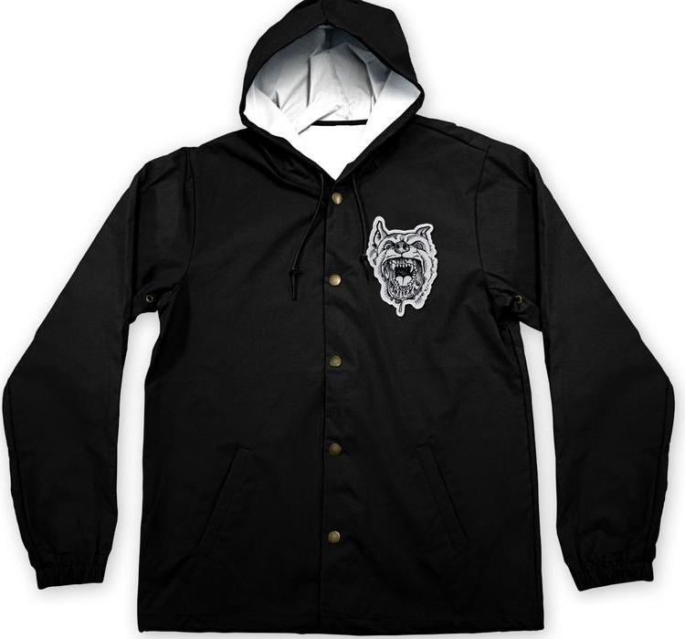 Backtrack / バックトラック - Dog フードコーチジャケット(ブラック)3XLあり
