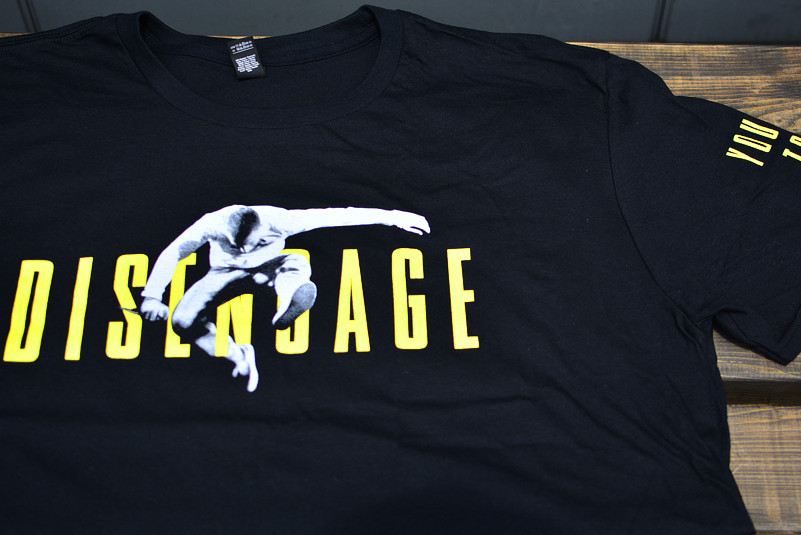 Youth Of Today /ユース・オブ・トゥデイ - Disengage Jump Tシャツ(ブラック)