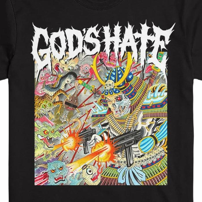 God's Hate / ゴッズ・ヘイト - GOD'S HATE Tシャツ(ブラック)