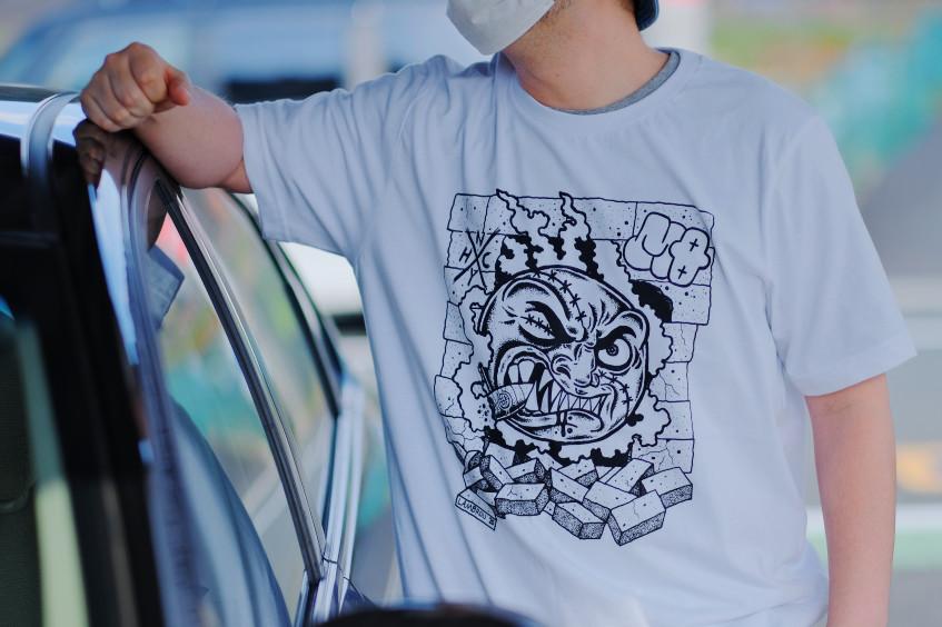 【即納】Omerta x Madball x MQ / - Tシャツ x Tシャツ x ソックス(3点セット)