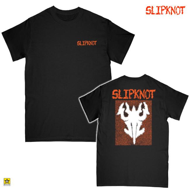 Slipknot / スリップノット - LOGO Tシャツ(ブラック)