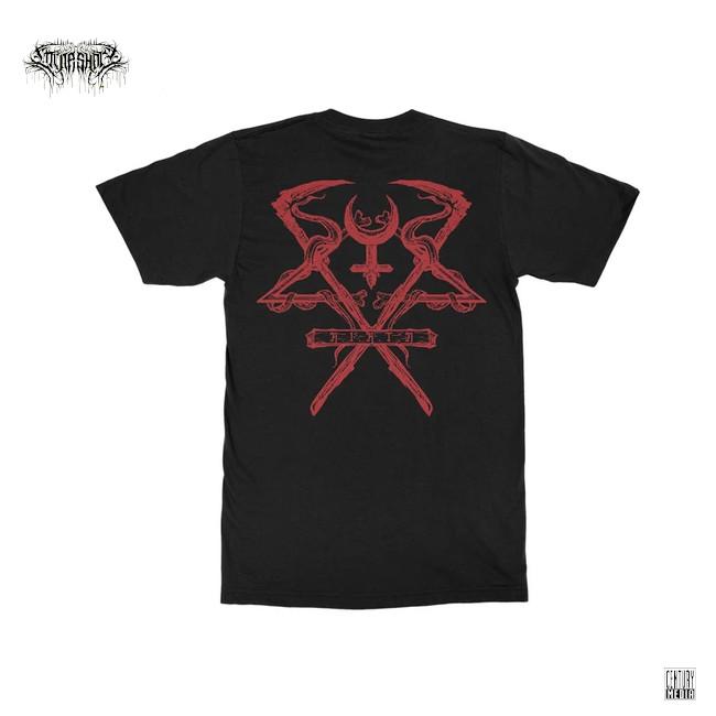 Lorna Shore / ローナ・ショア - Crimson Death Tシャツ(ブラック)