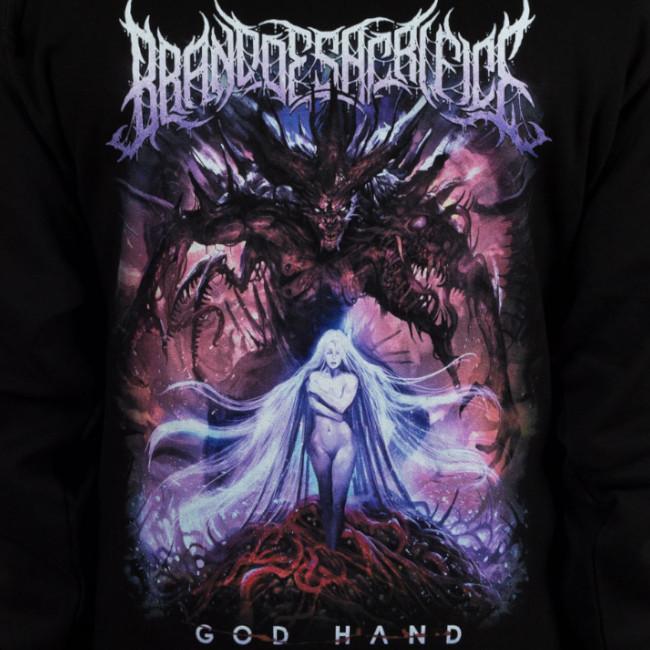 Brand of Sacrifice / ブランド・オブ・サクリファイス - Godhand プルオーバーパーカー(ブラック) 3Xlあり