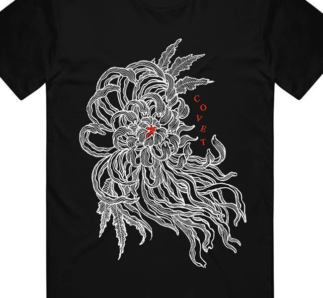 Covet / コベット - Flower Tシャツ(ブラック)