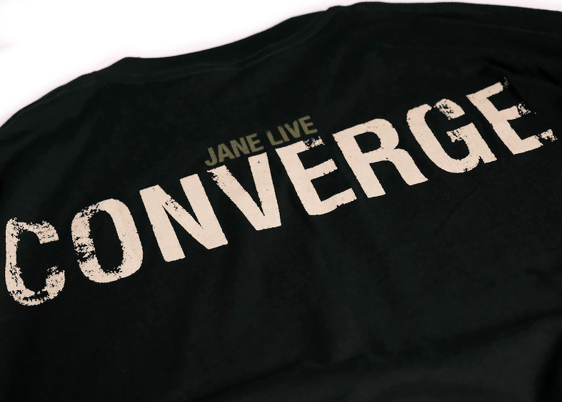 【即納】Converge / コンヴァージ - Jane Live Randy Ortiz Cover Tシャツ(ブラック)【廃盤】