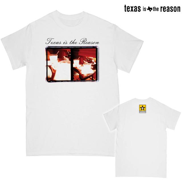 Texas Is The Reason / テキサス・イズ・ザ・リーズン - LP COVER Tシャツ(ホワイト)