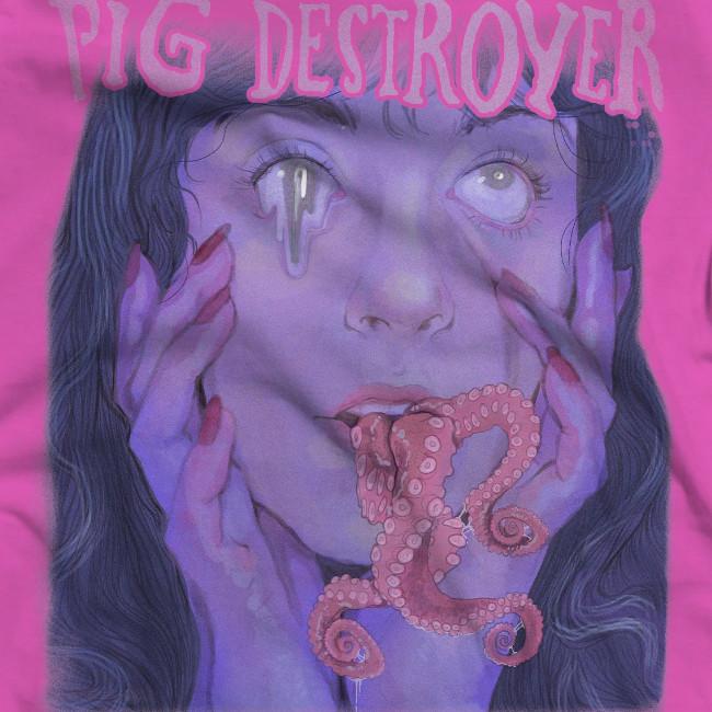 【期間限定】Pig Destroyer /ピッグ・デストロイヤー TENTACLES - Tシャツ(ピンク) 4月4日(日曜)夜8時まで