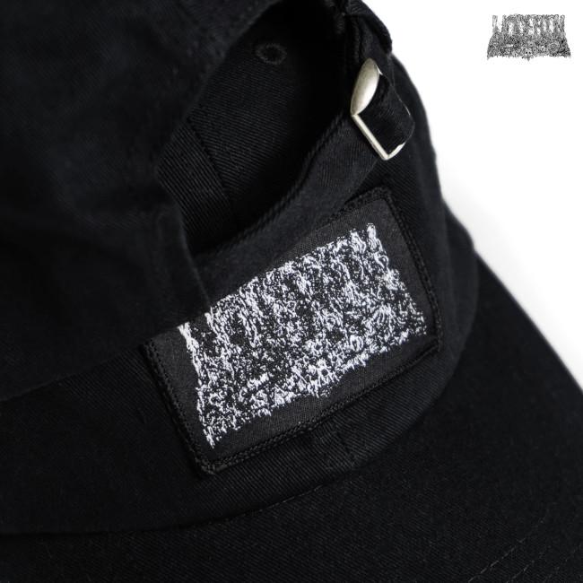Undeath / アンデス - LOGO ダッドハット・キャップ (ブラック)