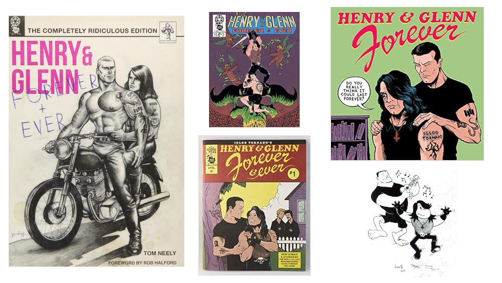 【限定500】Henry & Glenn Forever / - Black Flag Misfits 首振りヘッド・フィギュア【3月発売予定】