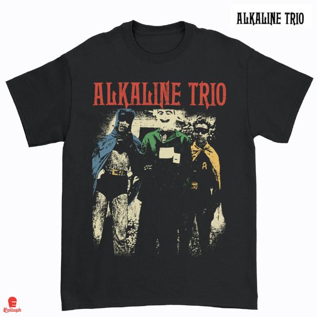 Alkaline Trio / アルカライン・トリオ - Comic Book Tシャツ(ブラック)