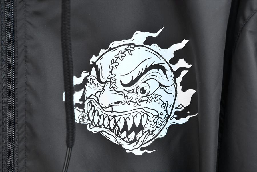 Madball / マッドボール - Logo ウィンドブレーカー(ブラック)復活