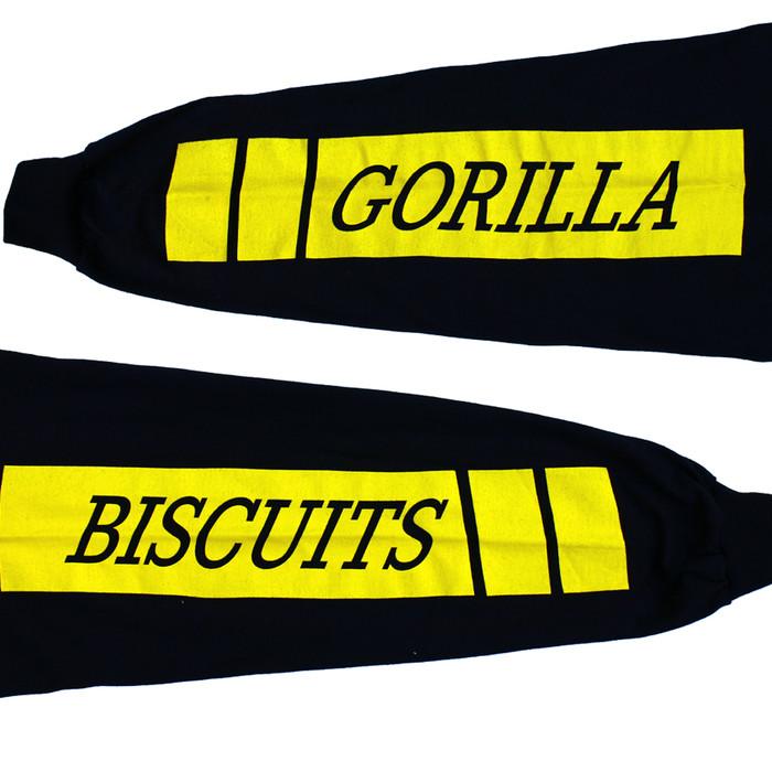 【即納】Gorilla Biscuits / ゴリラ・ビスケッツ - New Direction BMX ロングスリーブシャツ(ブラック)※ユーロ限定カラー