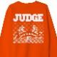JUDGE / ジャッジ - NEW YORK CREW クルーネック・トレーナー(オレンジ)