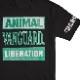 Vanguard / バンガード - ANIMAL LIBERATION Tシャツ (ブラック)