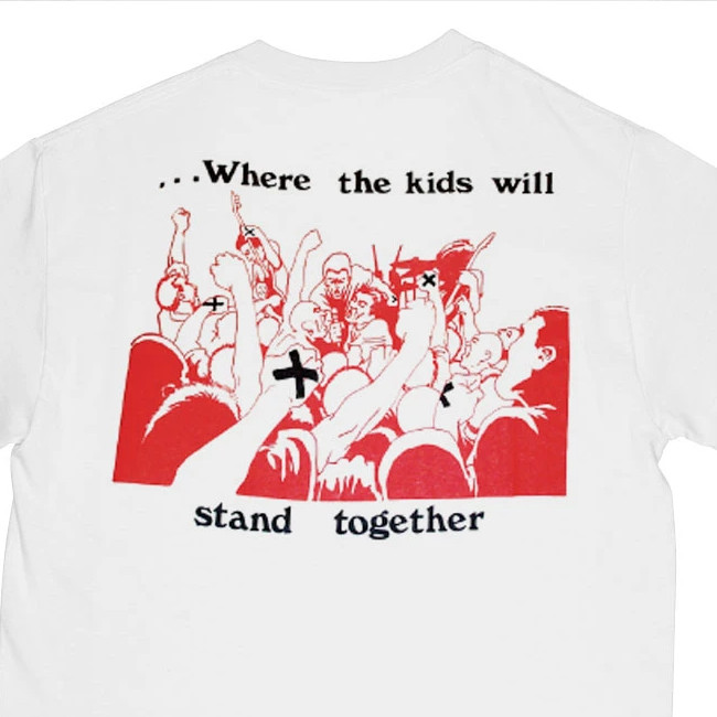 Up Front / アップ・フロント - STAND TOGETHER Tシャツ(ホワイト)