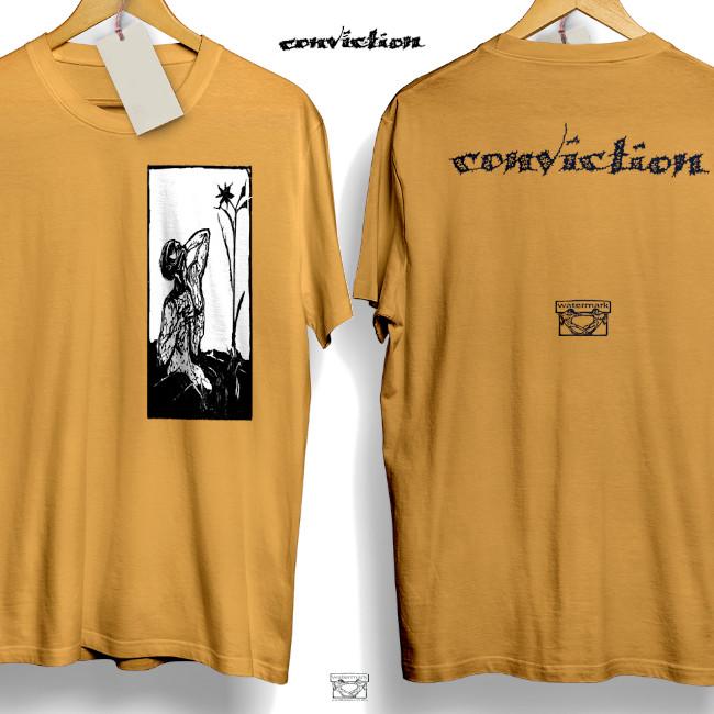 Conviction / コンヴィクション - NUMB Tシャツ(マスタード)