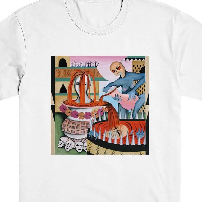 GULCH / ガルチ - ALBUM ART Tシャツ(ホワイト)