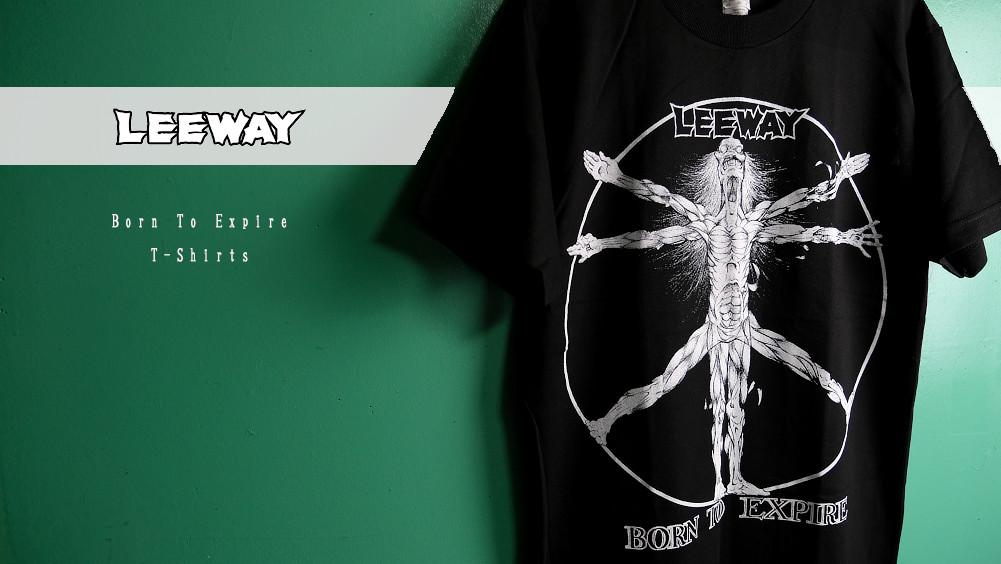 【即納】LEEWAY / リーウェイ - Born To Expire Tシャツ(ブラック)