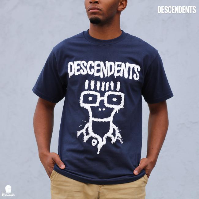 Descendents / ディセンデンツ - Sketch Milo Tシャツ(ネイビー)