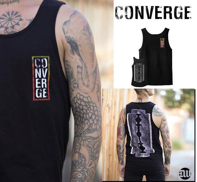 Converge / コンヴァージ - The Blade タンクトップ(ブラック)