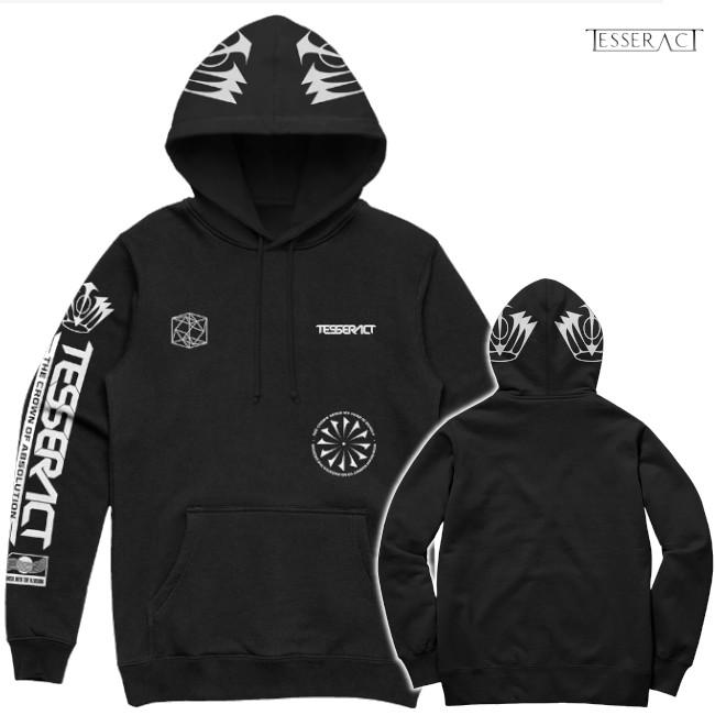 TesseracT - テッセラクト - Crown of Absolution プルオーバーパーカー(ブラック)