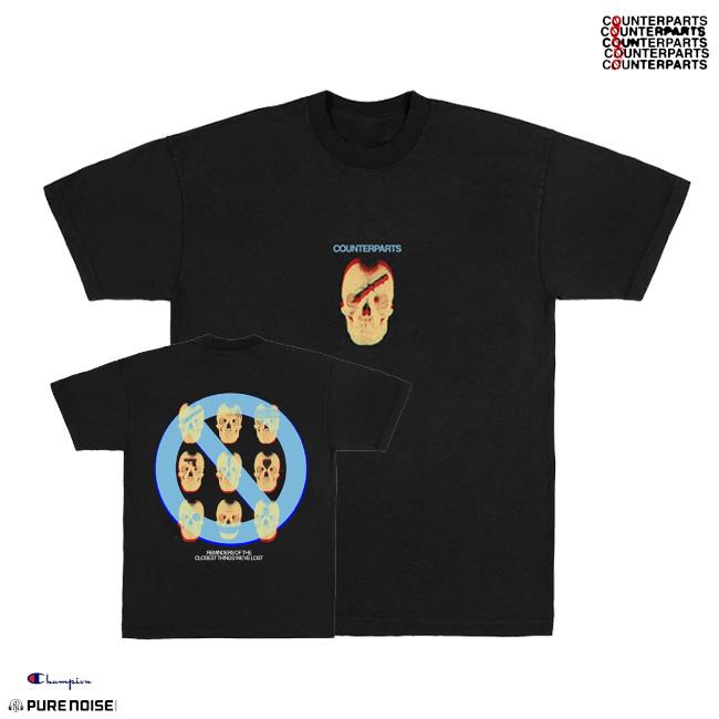 Counterparts / カウンターパーツ - Reminders Tシャツ(ブラック)