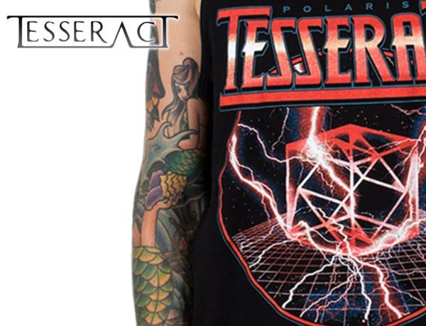 Tesseract/テッセラクト - Metal Cube タンクトップ(ブラック)
