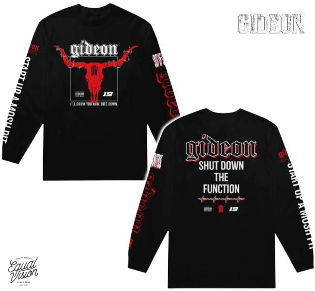 Gideon/ギデオン - Longhorn ロングスリーブ・長袖シャツ(ブラック)
