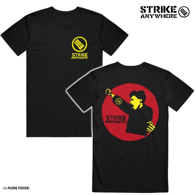 Strike Anywhere / ストライク・エニウェア - Exit English Tシャツ(ブラック)