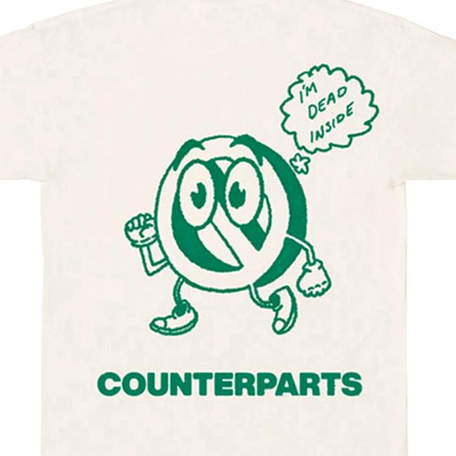 Counterparts / カウンターパーツ - Dead Inside Tシャツ(サンド)