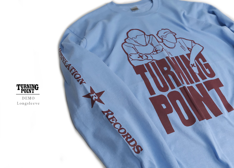 【即納】Turning Point / ターニング・ポイント- DEMO ロングスリーブ・長袖シャツ(ライトブルー)