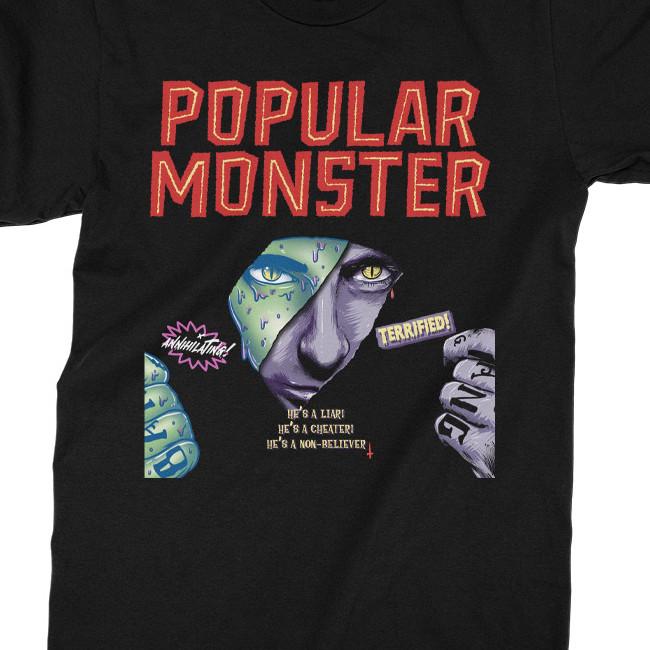 Falling in Reverse / フォーリング・イン・リヴァース - Popular Monster Tシャツ(ブラック)