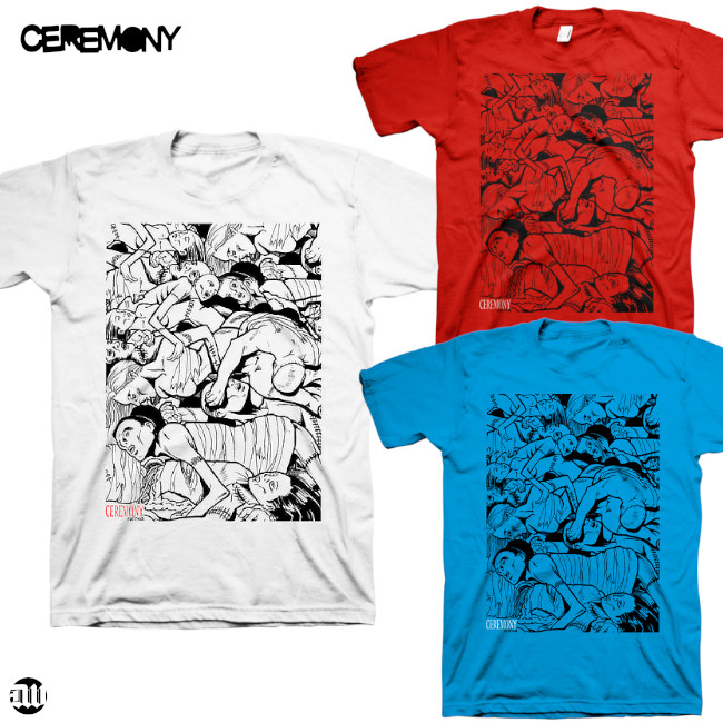 Ceremony / セレモニー - RUINED Tシャツ(3色)