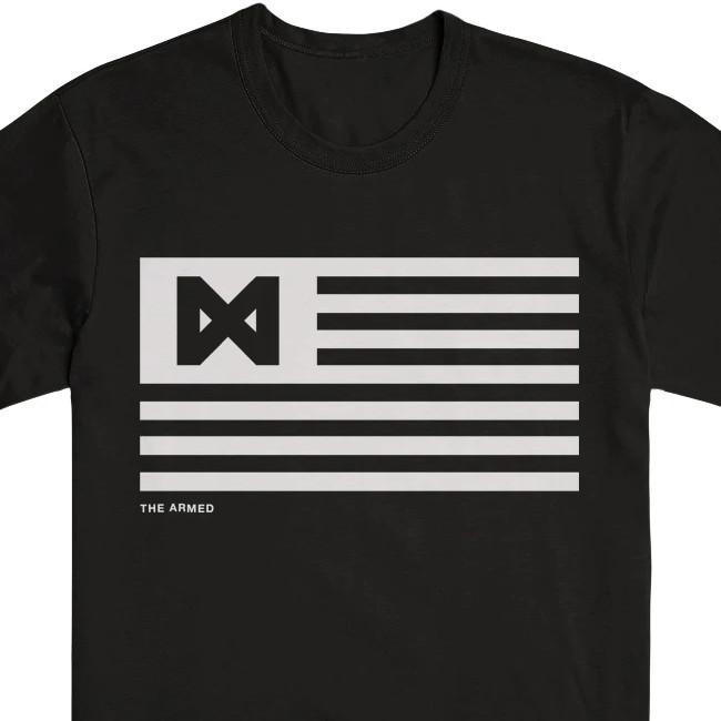 The Armed / アームド - FLAG Tシャツ(ブラック)