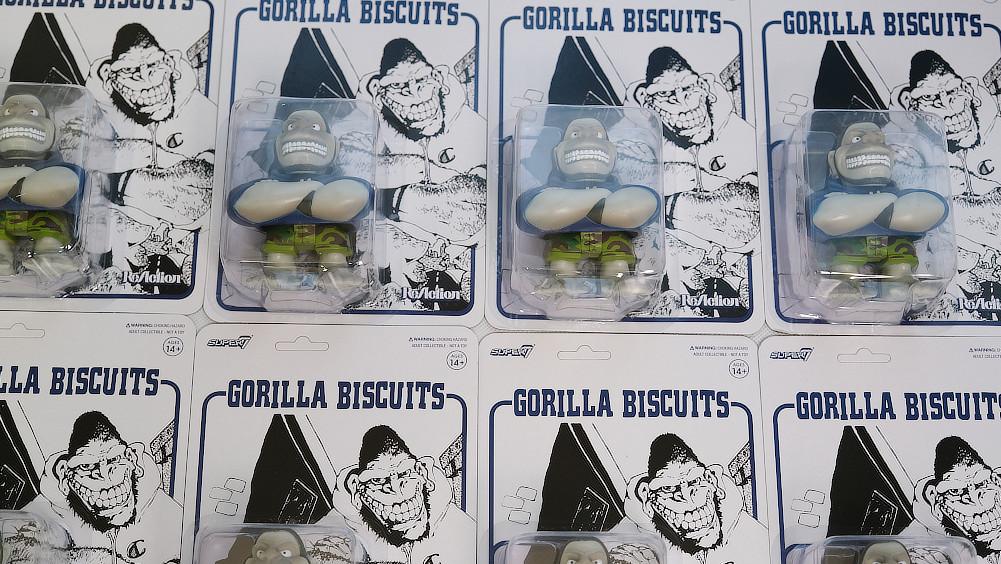 【即納】Gorilla Biscuits /ゴリラ・ビスケッツ - ACTION FIGURE フィギュア