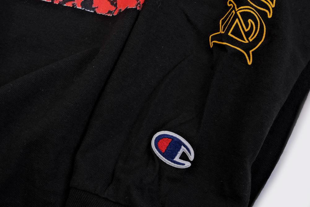 【即納】Polyphia/ポリフィア - Black Tiger 長袖・ロングスリーブシャツ(ブラック)